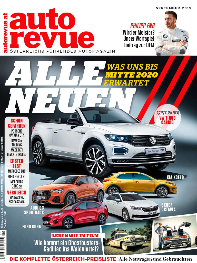 Autorevue Magazin: Ausgabe 9/2019