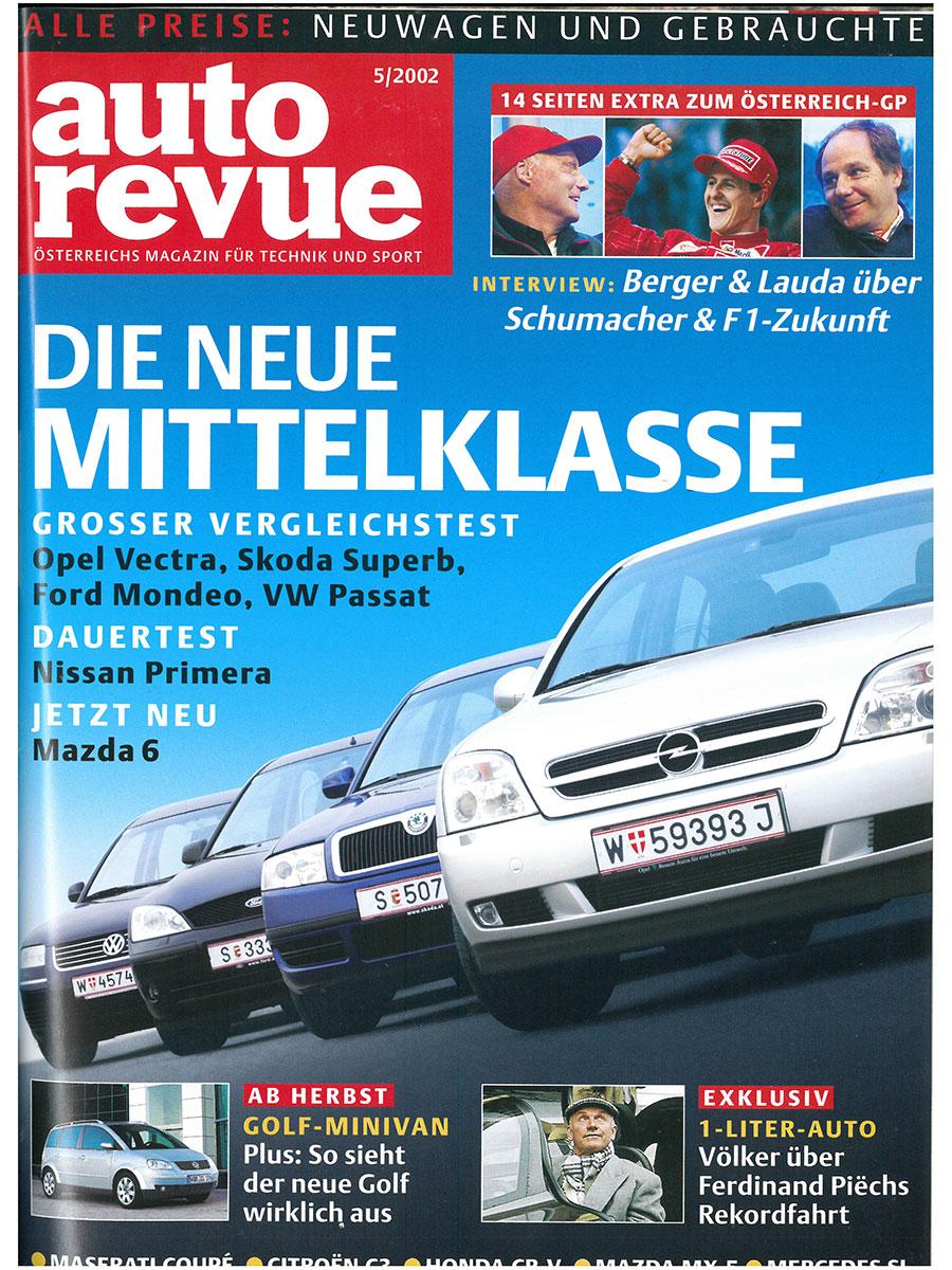 Autorevue Magazin-Archiv: Ausgabe 05/2002