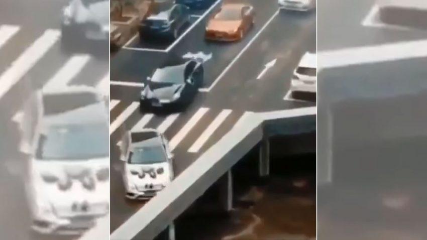 Wohin verschwinden diese Autos?