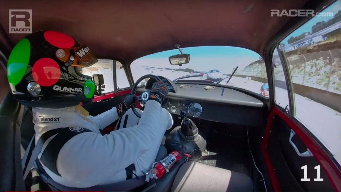 Wie man in einem Alfa Romeo GTZ 25 Autos in nur zwei Runden überholt [Video]