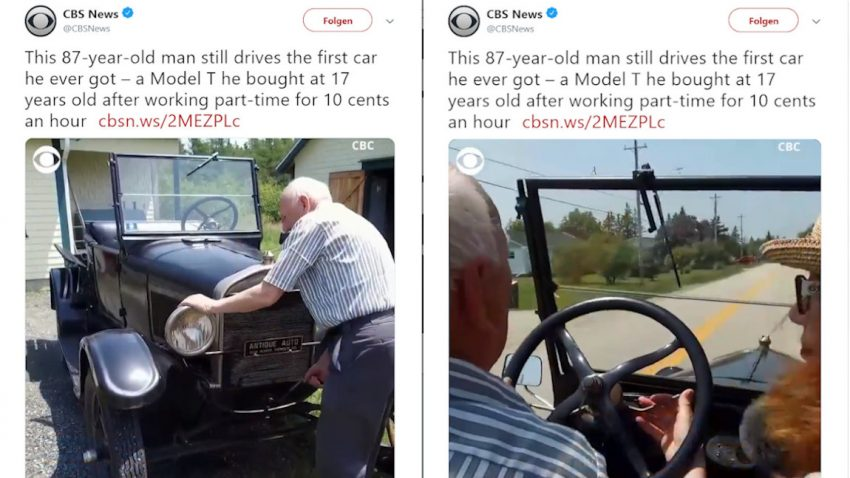 Dieser Kanadier fährt seit 70 Jahren das selbe Model T