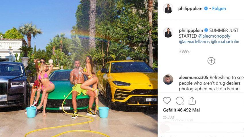 """""""Geschmacklose"""" Instagram-Postings: Ferrari droht Modedesigner mit rechtlichen Konsequenzen"""