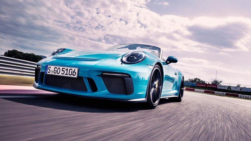 Test Porsche 911 Speedster: Eine Geschichte vom richtigen Autofahren