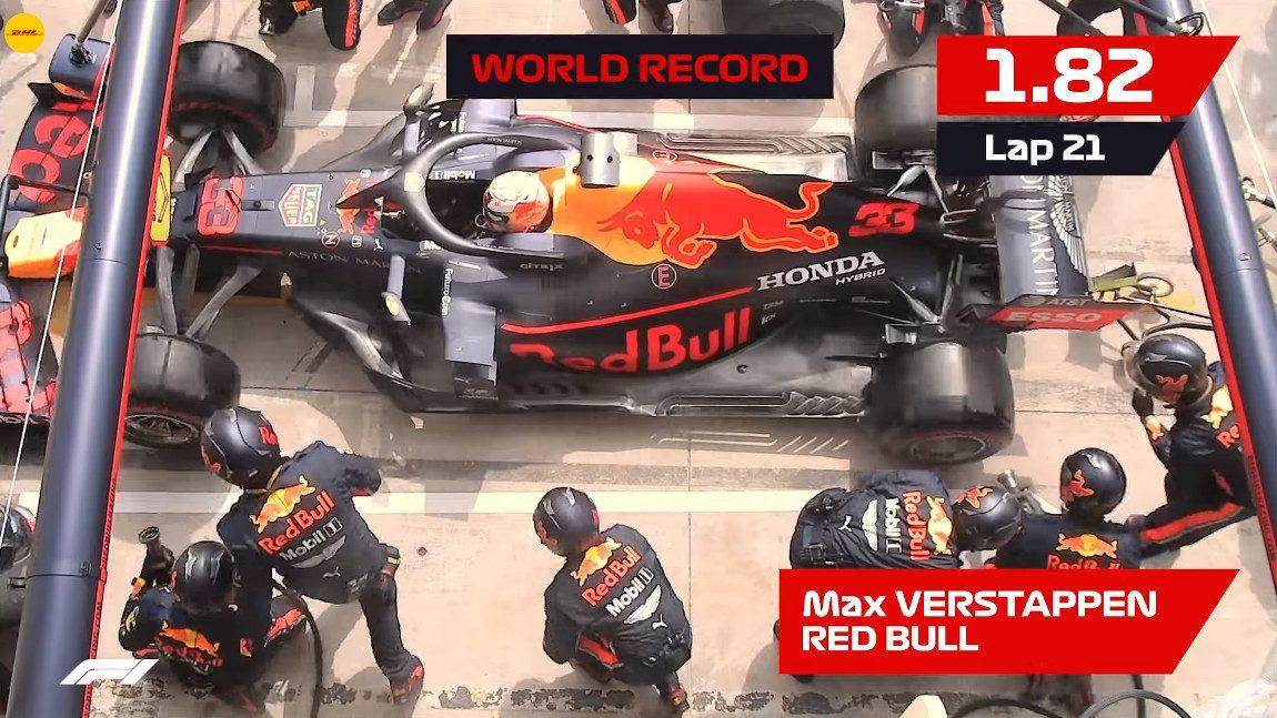 1, 82 Sekunden: Das ist der schnellste Reifenwechsel der Formel-1-Geschichte
