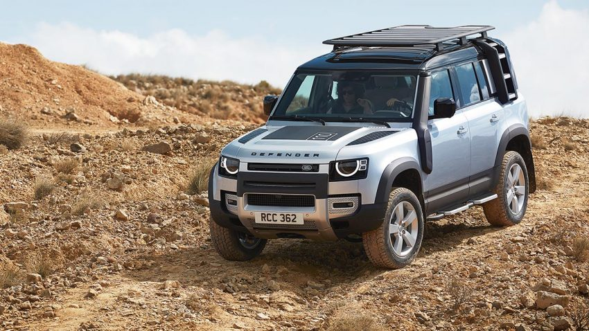 Land Rover Defender: Knochen kochen