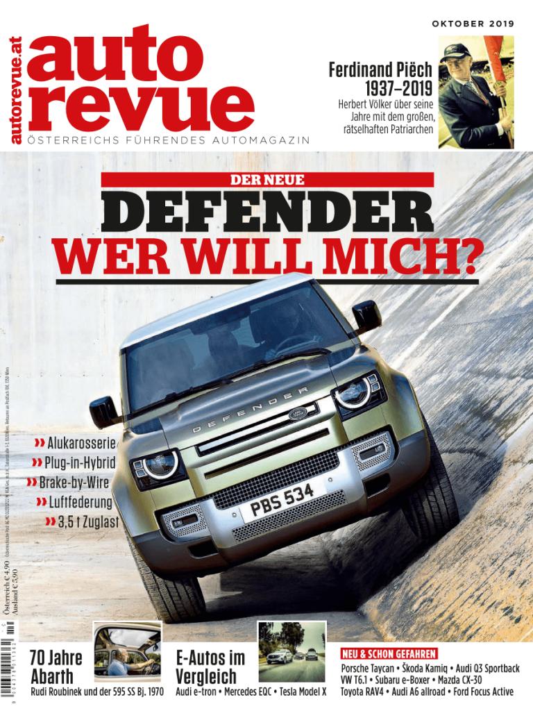 Autorevue Magazin: Ausgabe 10/2019