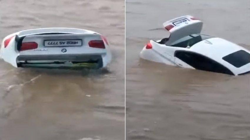 """""""Er wollte lieber einen Jaguar"""": 22-jähriger versenkt geschenkten 3er BMW im Kanal"""