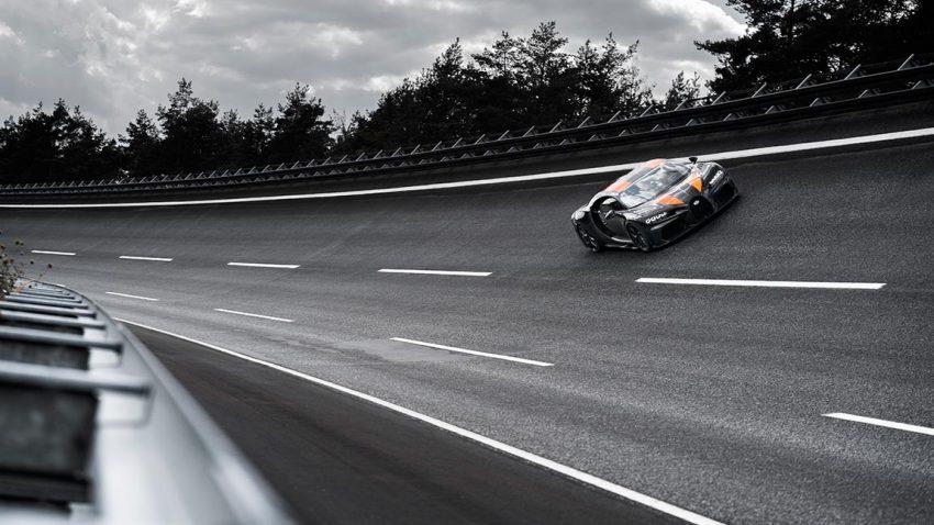 490,484 km/h: Bugatti Chiron knackt 300 mph-Marke