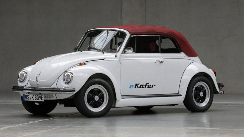 VW baut alte Käfer zu Elektroautos um