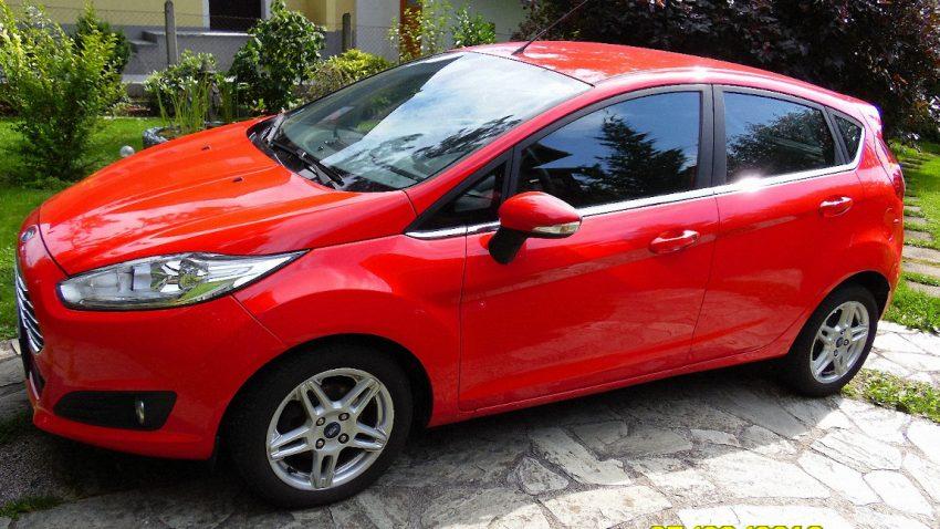 Ford Fiesta Titanium 5T EcoBoost Start/Stop 1,0 L (verkauft)