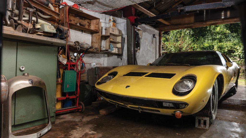 Scheunenfund: Lamborghini Miura P400 S für 1,4 Millionen Euro versteigert