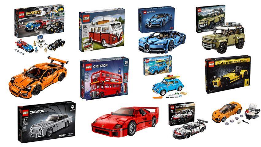 Die beliebtesten Autos von Lego