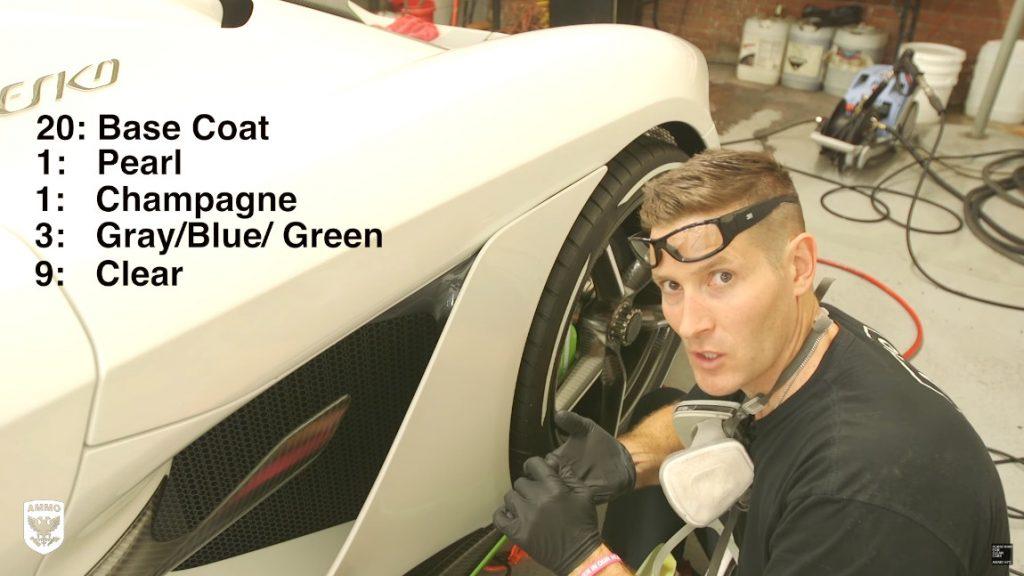 34 Schichten Lack: So reinigt ein Detailing-Profi den Koenigsegg Jesko