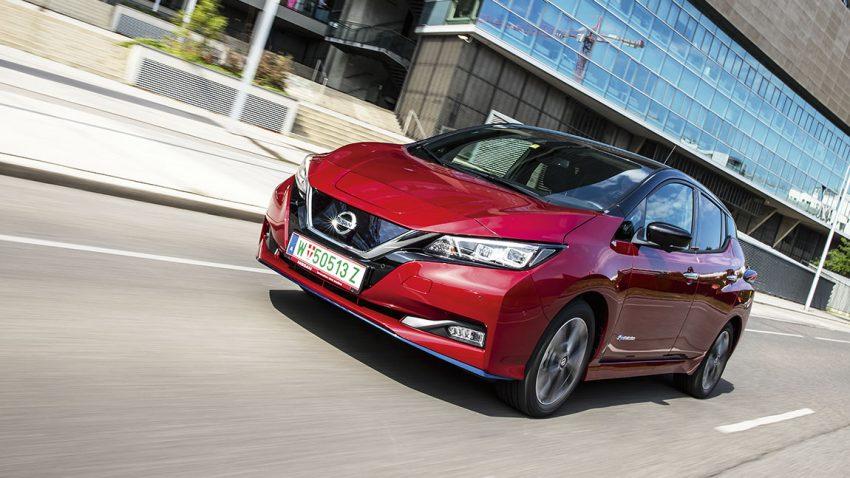 Der Nissan Leaf E+ Tekna, mit mehr Reichweite