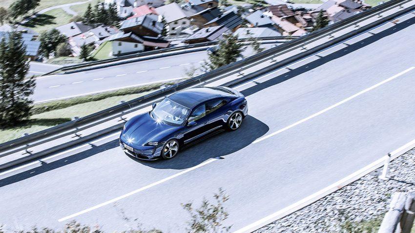 Erste Ausfahrt mit dem Porsche Taycan: Die Überwindung der Blitzangst