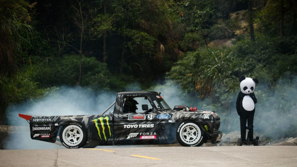 Drift-Spektakel am Abgrund: Ken Blocks Climbkhana 2