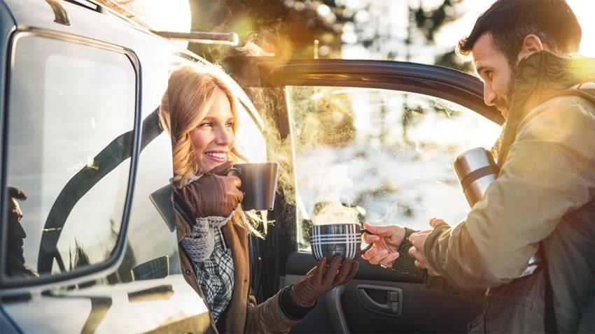 Mit dem Auto in den Winterurlaub