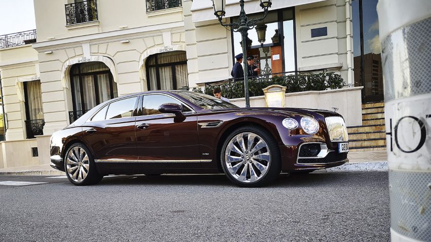 Bentley Flying Spur: Digital Botox
