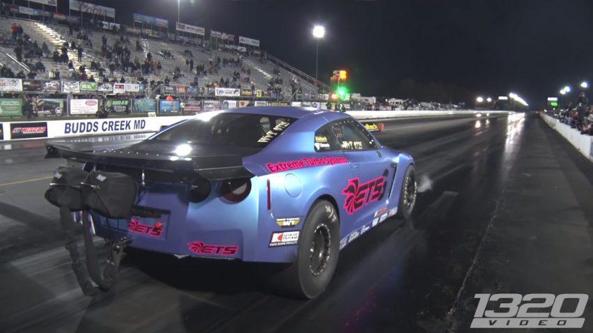 Neuer Rekord: Dieser Nissan GT-R schafft die Viertelmeile in 6,56 Sekunden