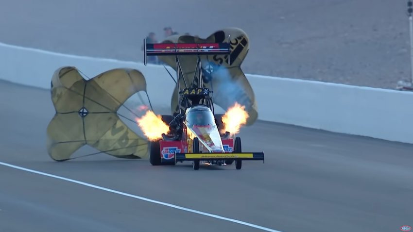 Von 0 auf 544 km/h in 3,659 Sekunden: Neuer Top-Fuel-Rekord