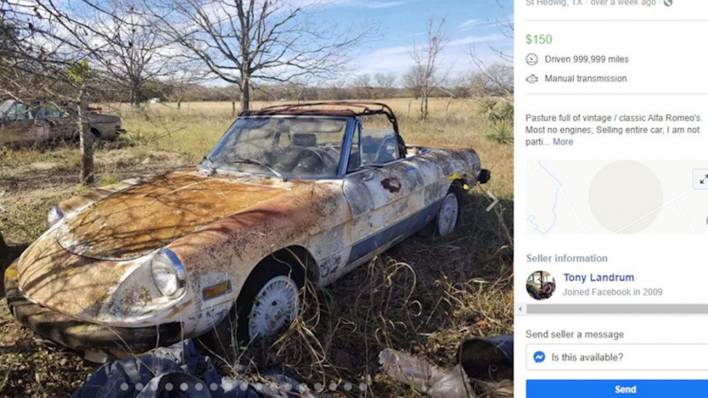 Das Feld der vergessenen Alfa Romeos