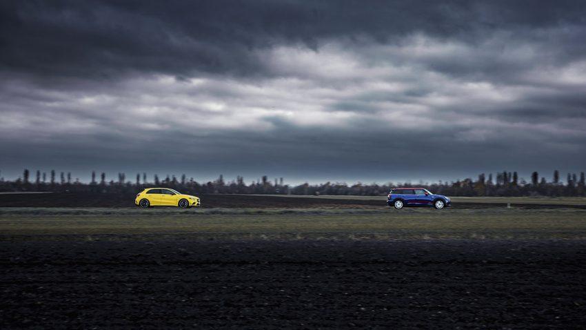 Mini JCW All4 Clubman vs. Mercedes-AMG A 35 4matic: Stern und Schnuppe