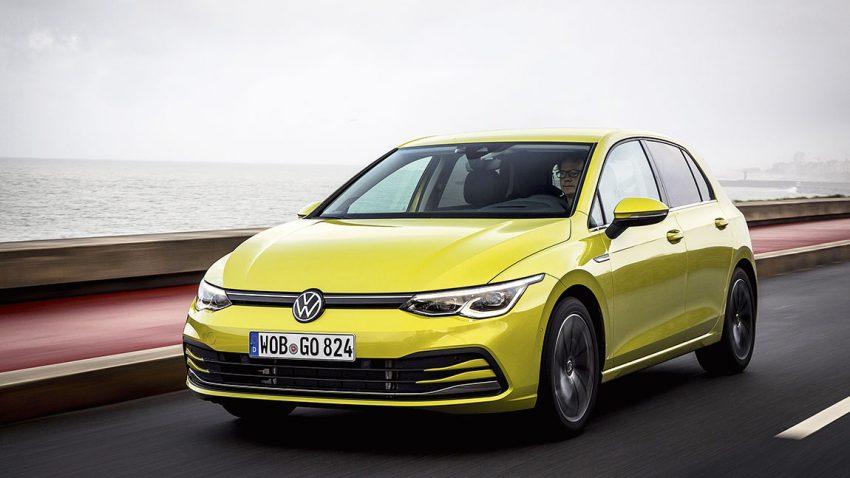 VW Golf 8: Kam, sah und blieb