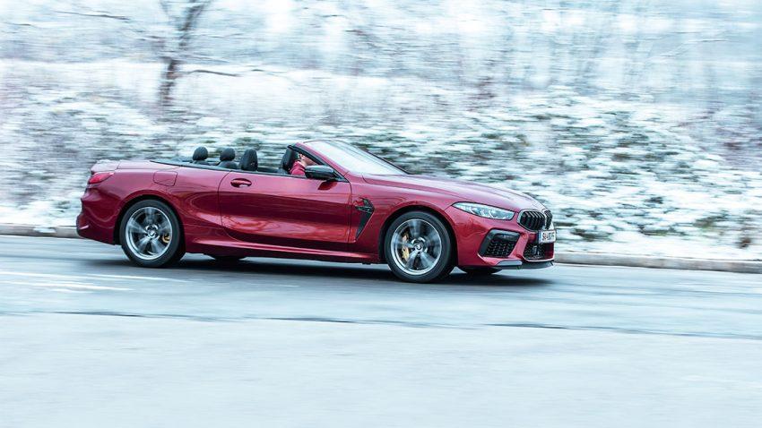 BMW M8 Competition Cabrio: Ich, unverbesserlich