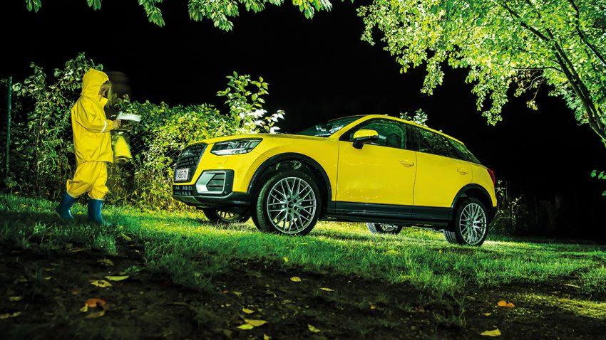 Middlesex - Der Audi Q2 1.0 TFSI im Dauertest