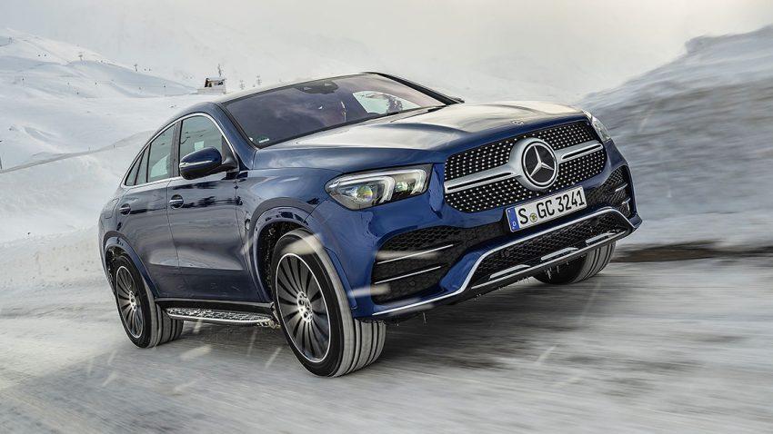 Mercedes GLE Coupé: Hammerwerfen mit Köpfchen