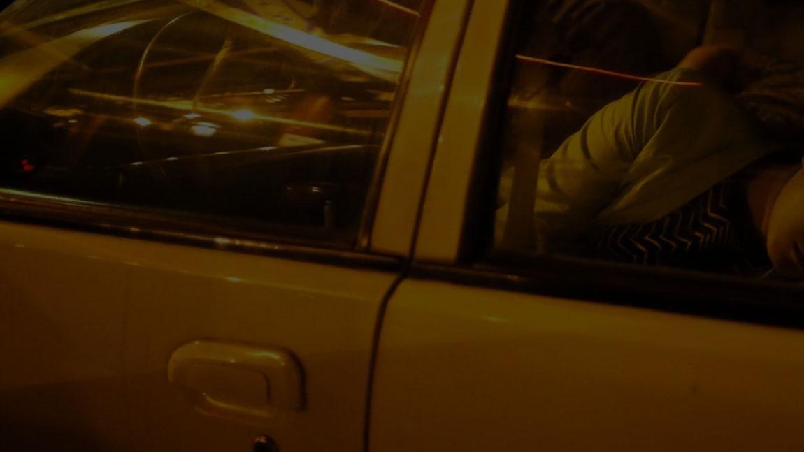 Im Auto übernachten