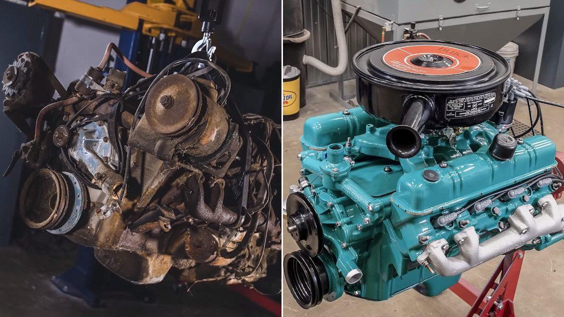 Wie dieser Buick Nailhead V8 wiederbelebt wird – in gerade einmal 8 Minuten