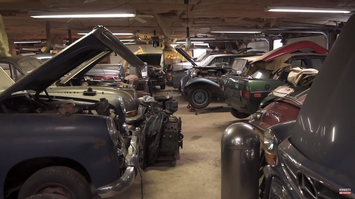 Schatzkammer Scheune: Fantastische Autosammlung in Virginia