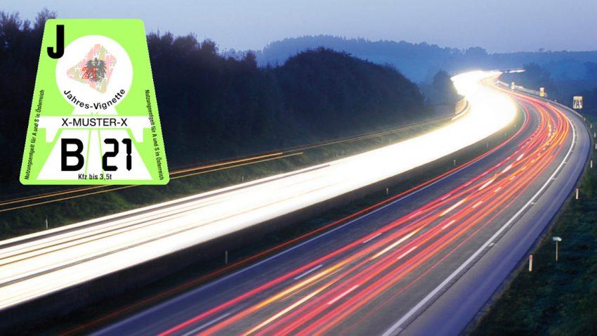 Autobahn-Vignette 2021 für Österreich: Infos, Preise & Tipps