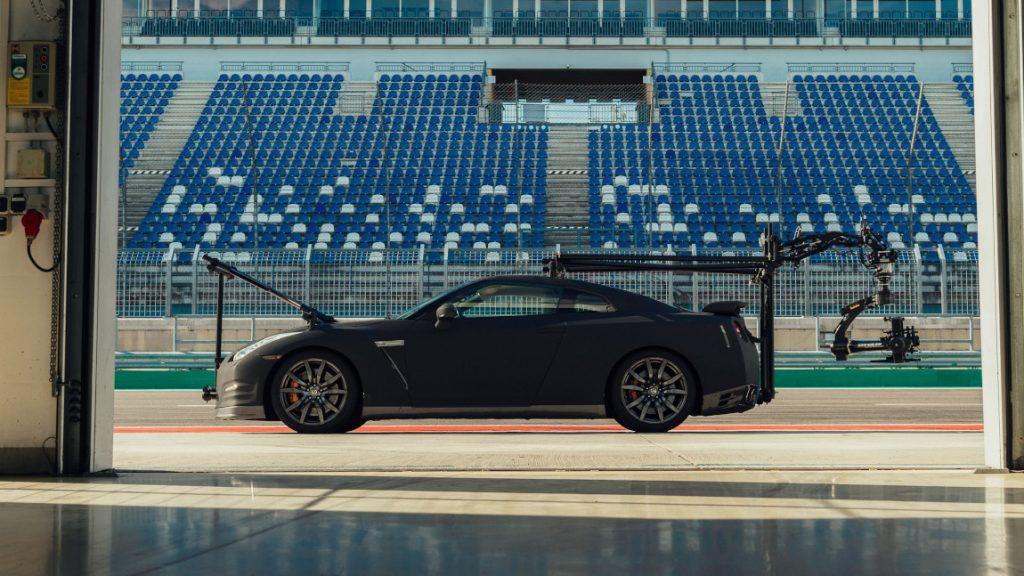 Dieser Nissan GT-R ist kein gewöhnlicher Kamerawagen