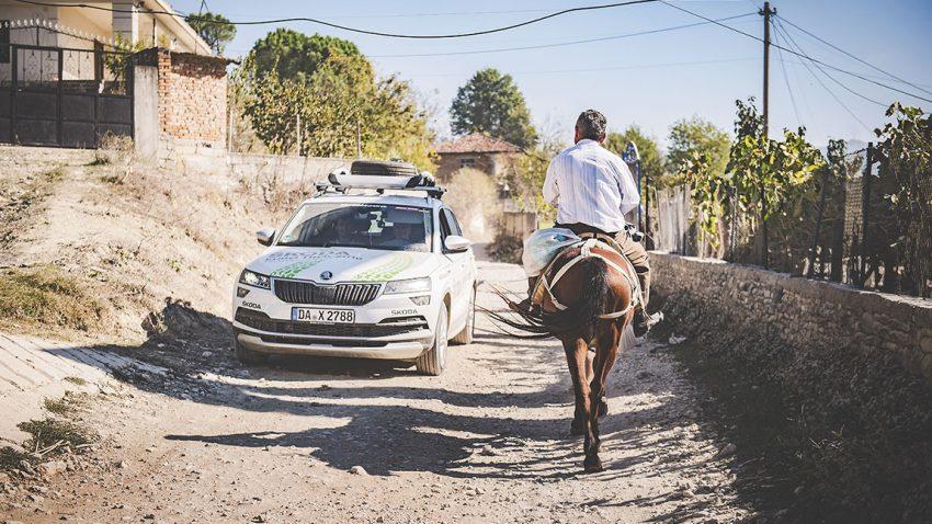 Škoda Eurotrek: Kaum Zeit zum Verlieben