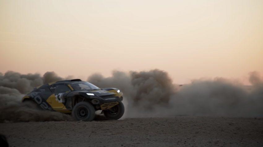 Strom und Staub: Ken Block im Elektro-Offroader bei der Rallye Dakar