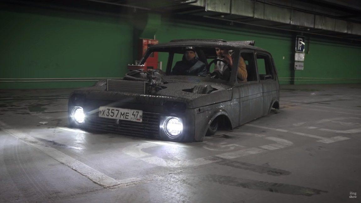 Der tiefste Lada Niva der Welt: How low can you go?