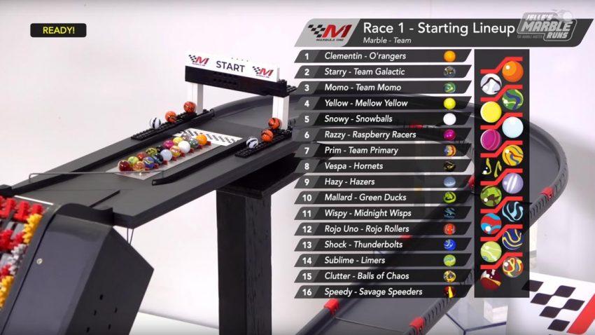 Murmel 1 statt Formel 1