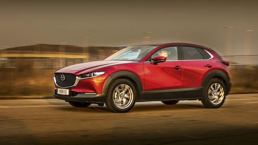 Mazda CX-30 Skyactiv-X: Und ab die Post mit Magerkost