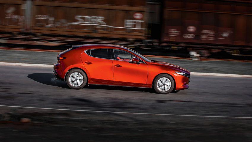 Halbjahrestest Mazda3 Skyactive G122: Wie man sieht