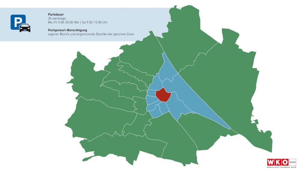 Parkpickerl in Wien: Alle Infos 2021 [Kosten, Gültigkeit, Antrag]
