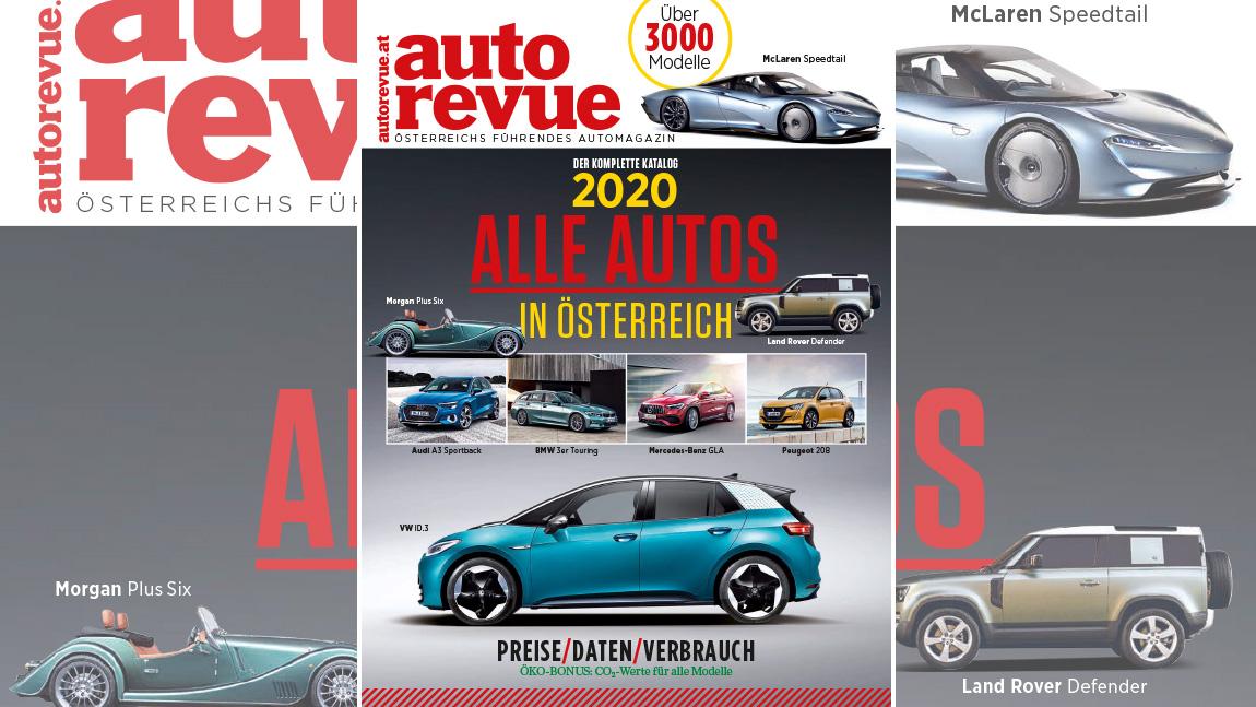 Alle Autos in Österreich 2020