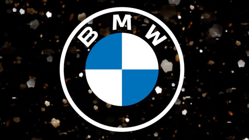 Das BMW-Logo unter der Lupe
