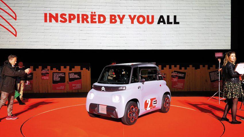 Citroën Ami: Revolution vom Rücksitz