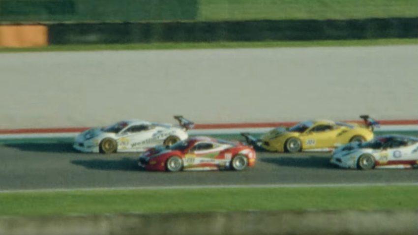 Ferrari-Rennen mit Vintage-Flair dank 50 Jahre alter Kameras