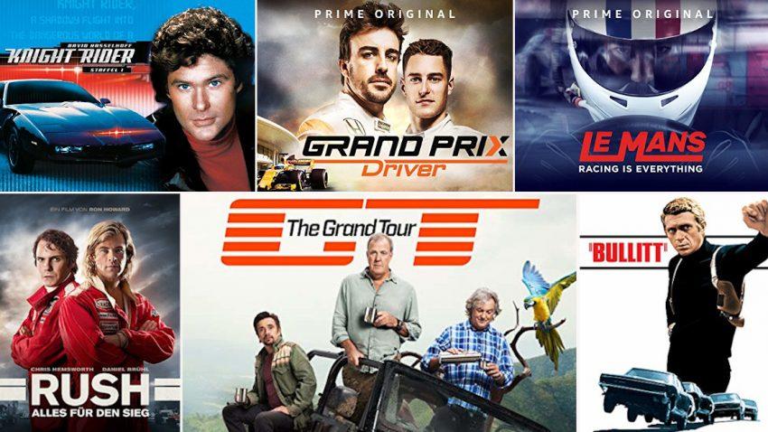 Die besten Serien und Filme für Autofans auf Amazon Prime Video