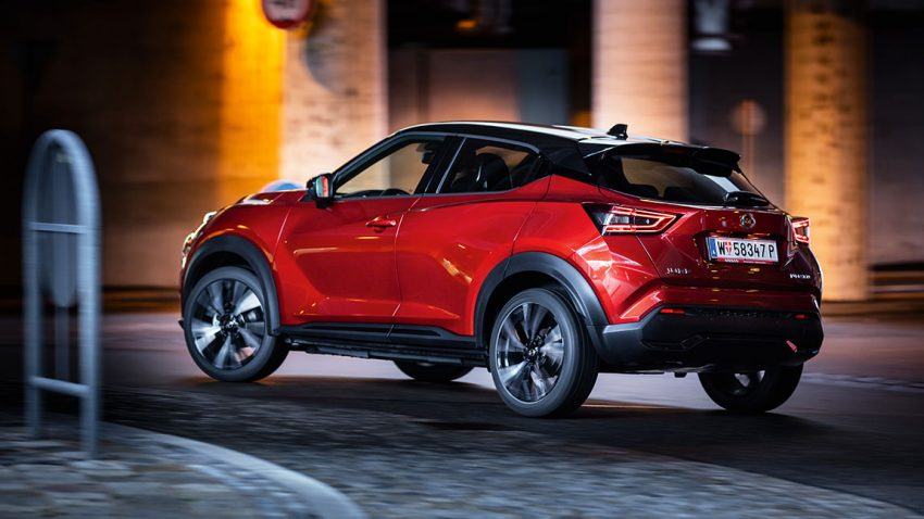 Test Nissan Juke DIG-T 117 N-Design: You take the Cayenne, Dear!