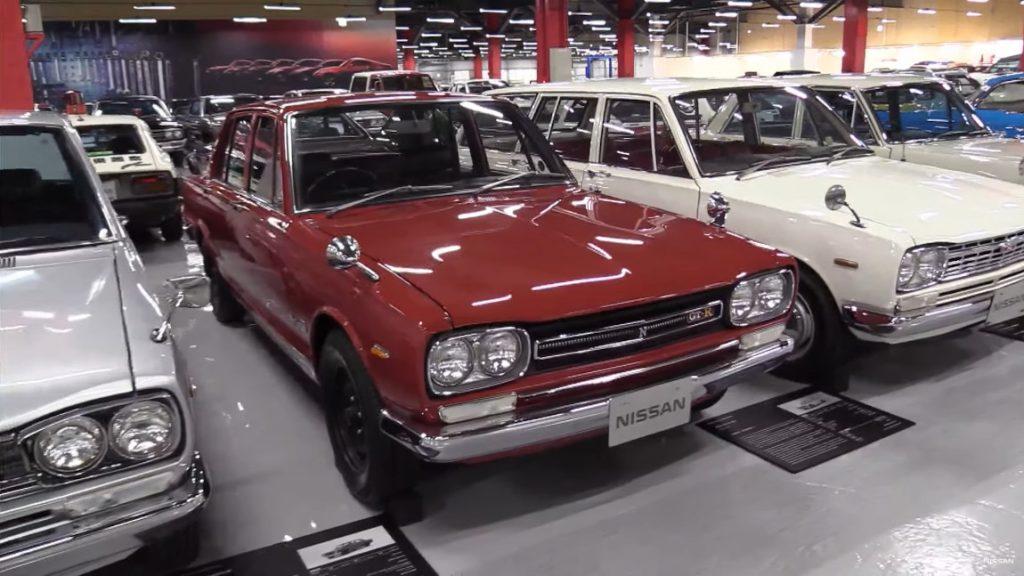 Virtuelle Tour durch Nissans Zama Heritage Collection