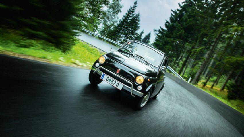 Im Fiat 500 um den Schöckl: Jungnahfahrt
